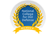 Logo Recognizing Law Office of Walter M. Reaves, Jr., P.C.'s affiliation with National College for DUI Defense
