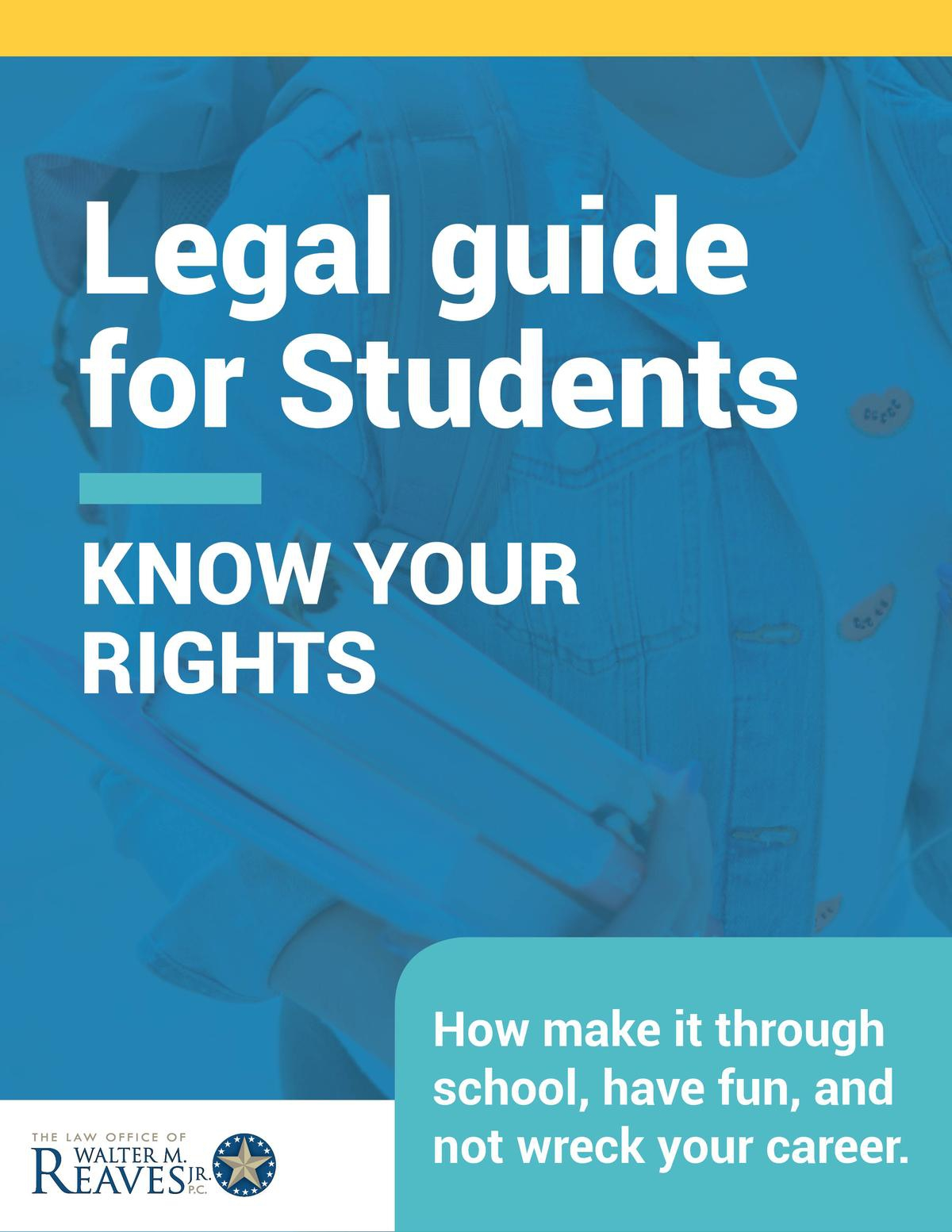 Legal Guide for Students